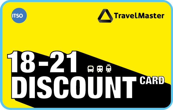 TravelMaster 18-21 Discount Card